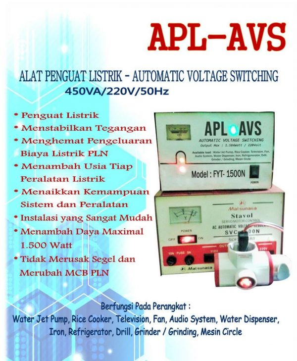 Alat Penguat Listrik -Automatic Voltage Switching